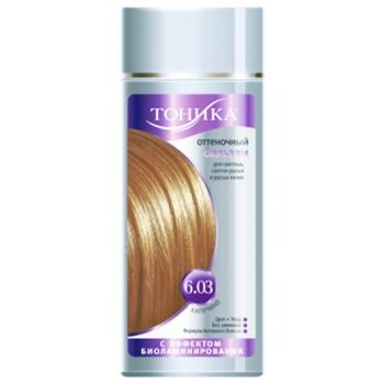 Бальзам для волос Тоника оттеночный капучино 150мл