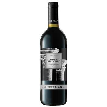 Вино Inkerman Древний Херсонес красное полусладкое 12% 0.75л