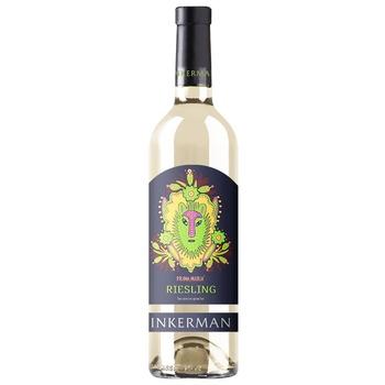 Inkerman Riesling White Semi-Dry Wine 12% 0,75l