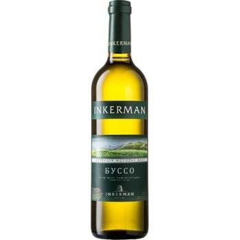 Вино Inkerman Коллекция молодых вин Буссо белое полусладкое 0,7л