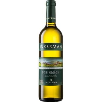 Inkerman Collection of young wines Wine Sauvignon white dry 13% 0,7l - buy, prices for CityMarket - photo 1