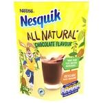 NESTLÉ® NESQUIK® ALL NATURAL chocolate flavour milk powder 168g - buy, prices for Auchan - photo 1