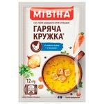 Суп-пюре МИВИНА® Горячая Кружка Куриный с гренками 12г