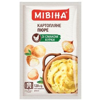 Картофельное пюре МИВИНА® со вкусом Курицы 120г