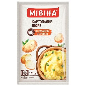 MIVINA® Cream flavoured instant mashed potatoes 120g