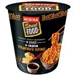 Вермішель МІВІНА® Street Food в соусі зі смаком пікантного теріякі гостра 75г