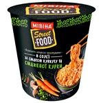 Вермишель МИВИНА® Street Food в соусе со вкусом кунжута и жареной курицы острая 75г