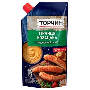 Гірчиця ТОРЧИН® Козацька 130г - купити, ціни на Ашан - фото 1