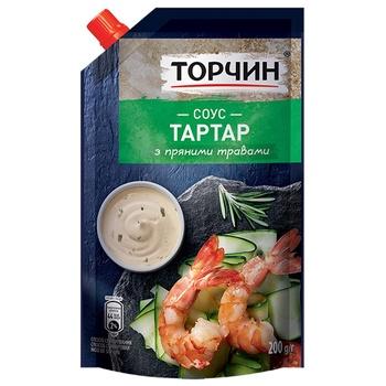 Соус ТОРЧИН® Тартар 200г - купити, ціни на CітіМаркет - фото 1