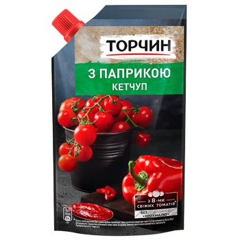 TORCHYN® Paprika ketchup 270g - buy, prices for CityMarket - photo 1