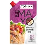 Майонез ТОРЧИН® Tasty Mayo с соусом барбекю 200г