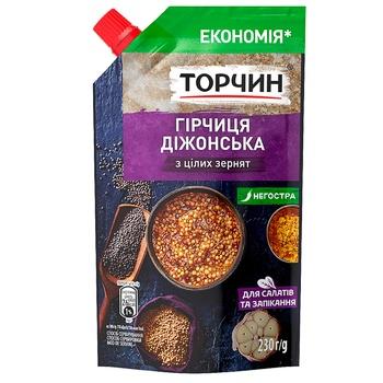 Горчица ТОРЧИН® Дижонская 230г