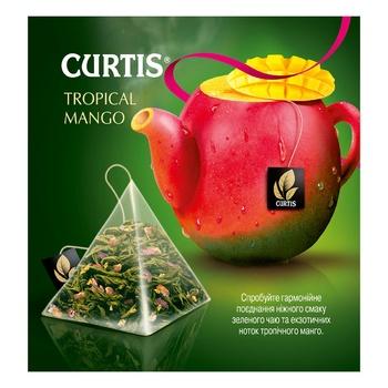 Curtis Tropical Mango green tea 20*1,8g - buy, prices for CityMarket - photo 3