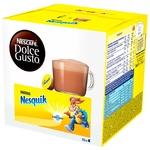 NESCAFÉ® DOLCE GUSTO® Nesquik® chocolate flavour milk powder in capsules 16pcs 256g