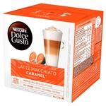 Кава NESCAFÉ® DOLCE GUSTO® Latte Macchiato Карамель в капсулах 16шт 145,6г