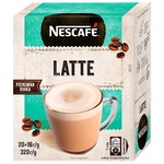 NESCAFÉ® Latte instant drink with coffee stick 20*16g