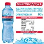 Sparkling water Mirgorodska plastic bottle 0,5l - buy, prices for EKO Market - photo 2