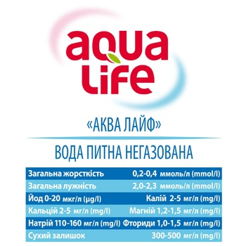 Вода питьевая Aqua Life негазированная 5л - купить, цены на ЕКО Маркет - фото 2