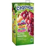 Sadochok Apple-red grape Nectar 0,95l