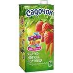 Sadochok Apple, Carrots, Strawberries Juice 950ml