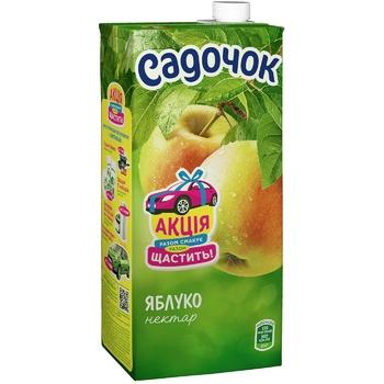 Нектар Садочок яблочный 0,95л - купить, цены на СитиМаркет - фото 1
