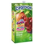 Sadochok Apple-cherry Nectar 1,93l