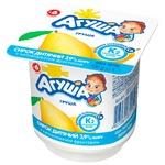 Сирок Агуша груша для дітей з 6 місяців 3,9% 100г
