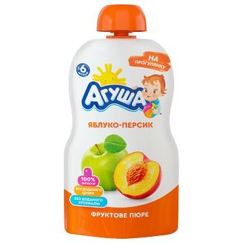 Agusha Puree for children apple-peach 90g - buy, prices for EKO Market - photo 1