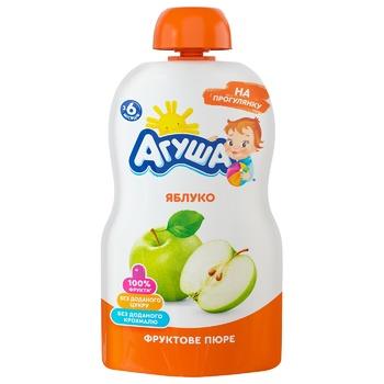 Agusha Puree for kids apple 90g - buy, prices for EKO Market - photo 1