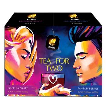 Чайний набір Curtis Tea for Two Листовий 100г - купити, ціни на Ашан - фото 3