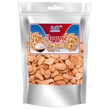 Nuts peanuts Smachno salt 100g Ukraine - buy, prices for CityMarket - photo 1
