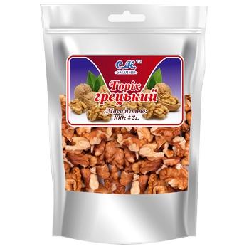 Nuts walnut Smachno dried 100g Ukraine - buy, prices for CityMarket - photo 1