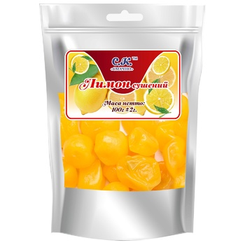 Dried fruits lemon Smachno dried 100g Ukraine - buy, prices for CityMarket - photo 1