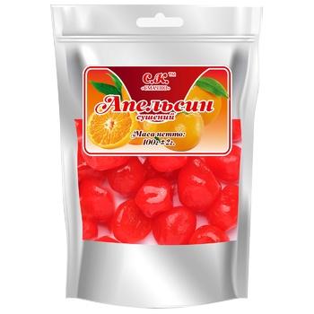 Апельсин Смачно сушений 100г - купити, ціни на CітіМаркет - фото 1