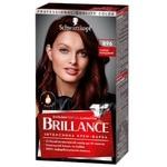 Краска для волос Brillance 896 Черно бордовый