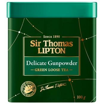 Lipton Yellow Sir Thomas green tea 100g - buy, prices for CityMarket - photo 3