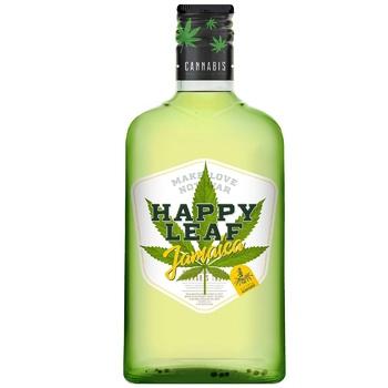 Настойка конопляная Happy Leaf Jamaica 38% 0,25л - купить, цены на ЕКО Маркет - фото 1