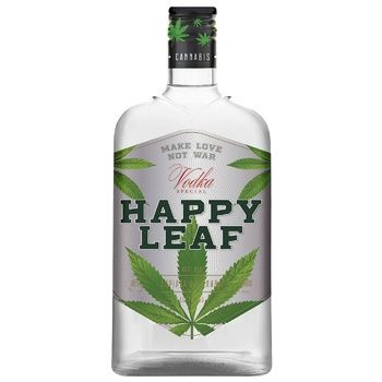 Happy Leaf Special Vodka 40% 0,5l