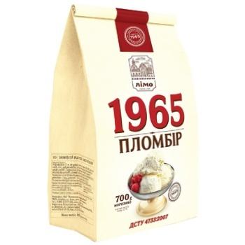Морозиво Лімо Пломбір 1965 в паперовому пакеті 700г - купити, ціни на CітіМаркет - фото 1