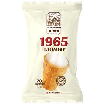 Морозиво Лімо Пломбір 1965 70г - купити, ціни на Ашан - фото 1