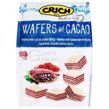 Вафли Crich Какао 250г
