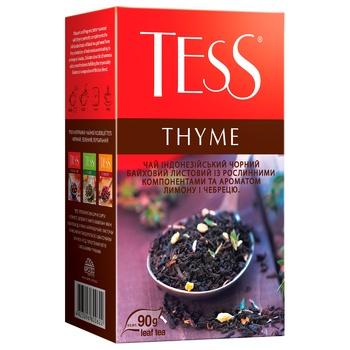 Чай чорний Tess Thyme 90г - купити, ціни на МегаМаркет - фото 2
