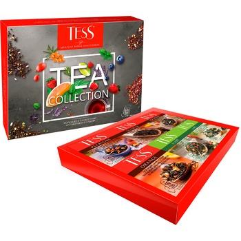 Набір чаю Tess Collection 6 видів 60шт - купити, ціни на Ашан - фото 1
