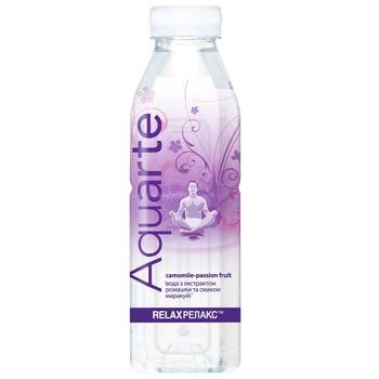 Напиток негазированный Aquarte Релакс маракуйя с экстрактом ромашки 0,5л