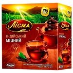 Чай чёрный Лисма Индийский Крепкий в пакетиках 100*1,8г