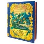 Чай Sun Gardens Книга Winter чорний+зелений листовий 100г