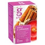 Чай фруктовый G'tea! корица-яблоко в пакетиках 20шт*2г