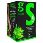 Чай зеленый G'tea! Slim с травами 20шт 1.5г
