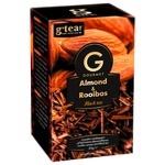 Чай черный G'tea! Gourmet миндаль и ройбуш 20шт*1,75г