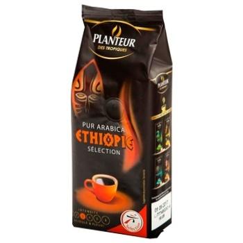 Кава Плантьор де Тропік Селект Ефіопія 100% арабіка натуральна смажена мелена 250г Франція